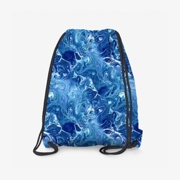 Рюкзак «Морская фантазия (жидкий акрил)»