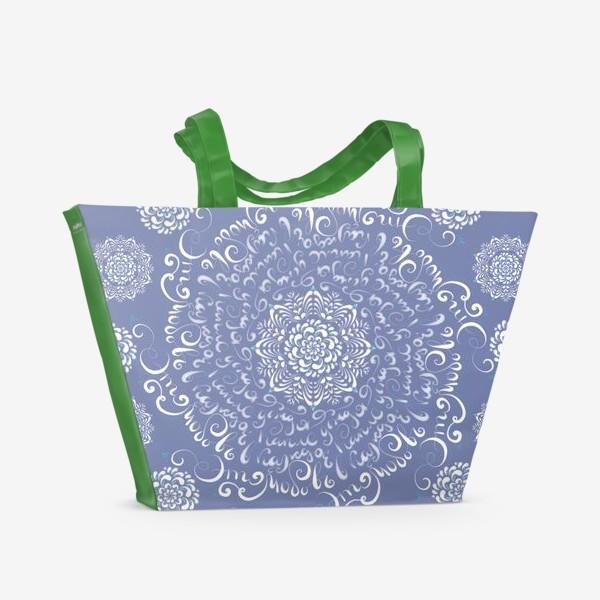 Пляжная сумка «Любовь в каждой капле дождя»