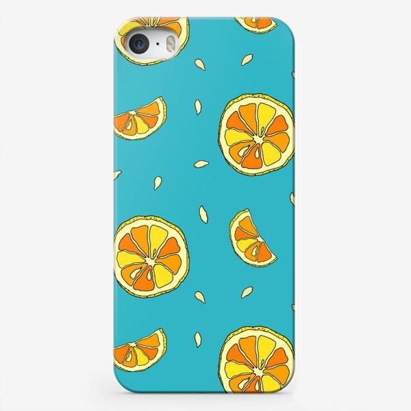 Чехол iPhone «Лимонные дольки»