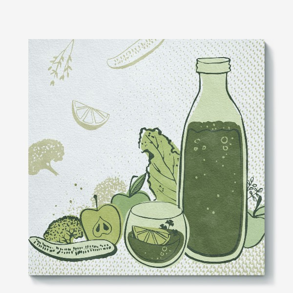Холст «Витаминный сок»