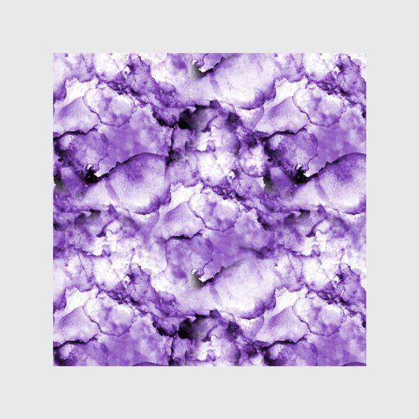 Шторы «Фиолетовое безумство (спиртовые чернила)»