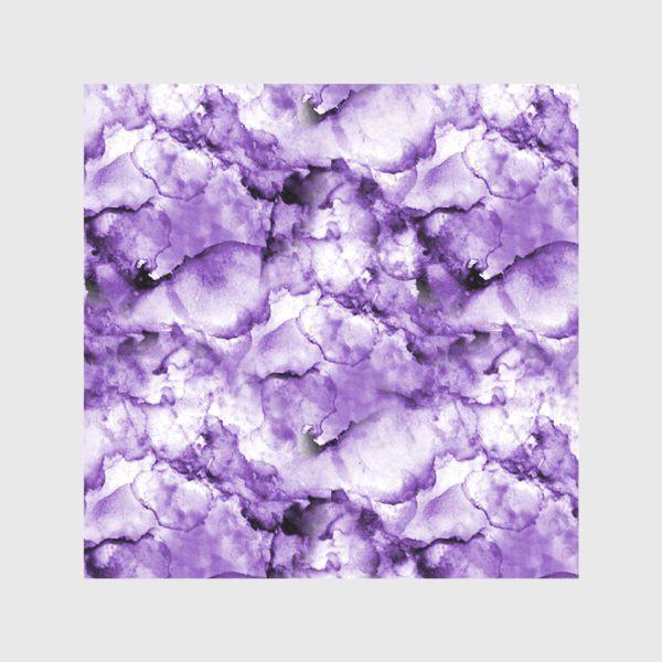 Скатерть «Фиолетовое безумство (спиртовые чернила)»