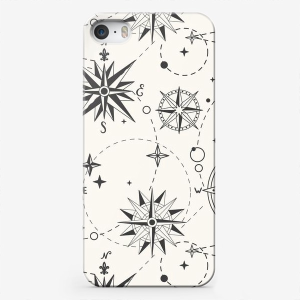 Чехол iPhone «Роза Ветров»