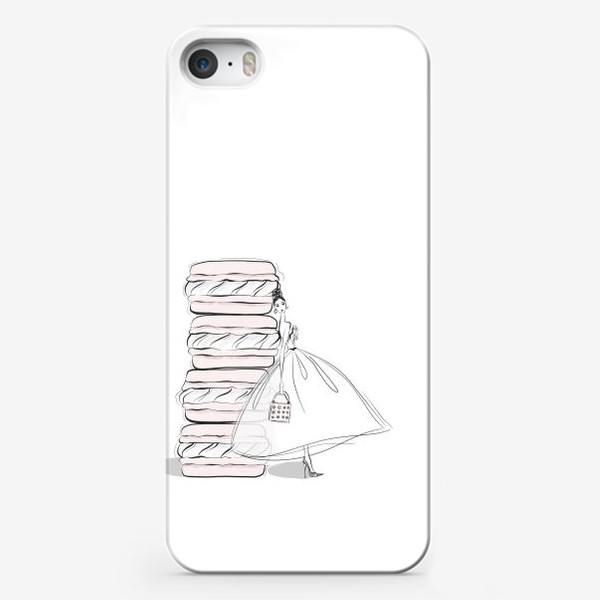 Чехол iPhone «макароны»