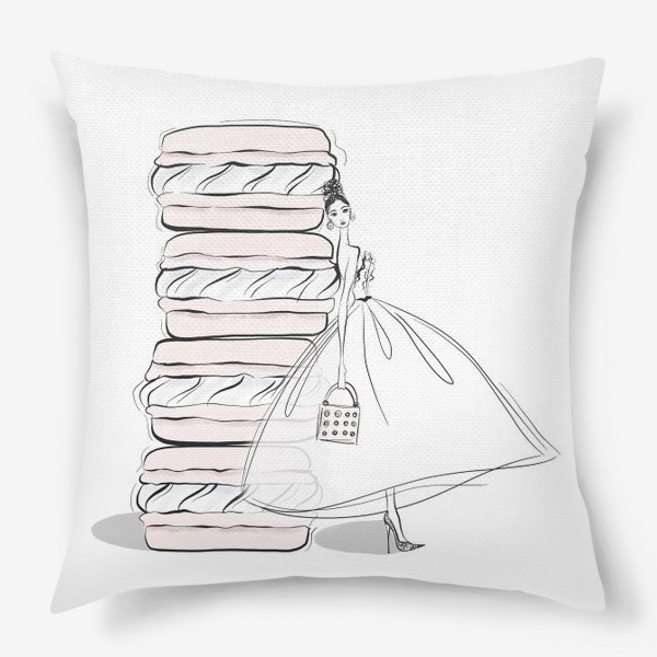 Подушка «макароны»