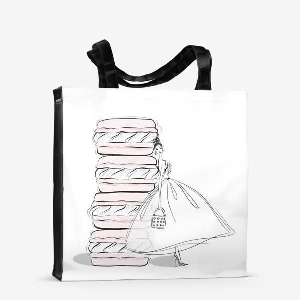 Сумка-шоппер «макароны»