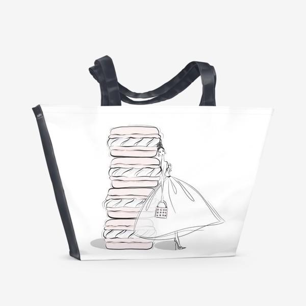Пляжная сумка «макароны»