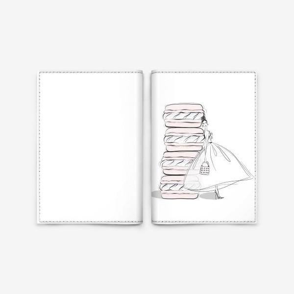 Обложка для паспорта «макароны»