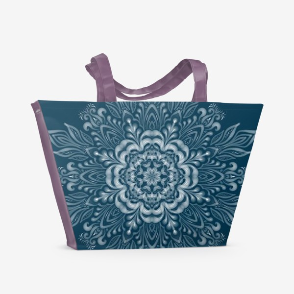 Пляжная сумка «Мандала Вдох»