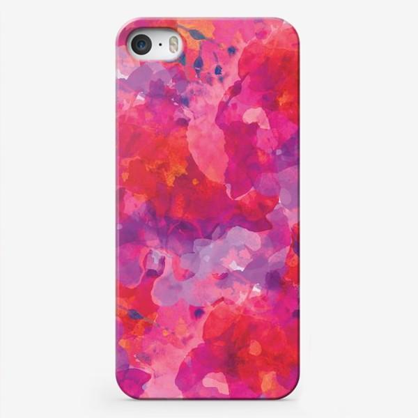 Чехол iPhone «Цветочный узор»