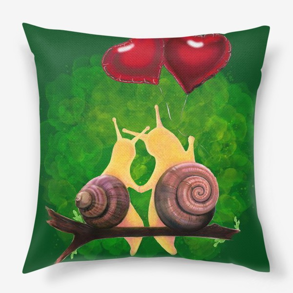 Подушка «snail love»