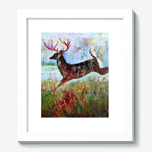 Картина «Лесной олень»