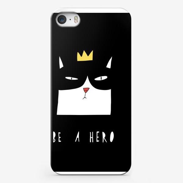 Чехол iPhone «Be A Hero»