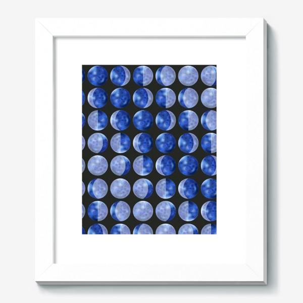 Картина «Фазы луны на черном»
