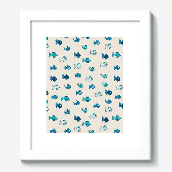Картина «Паттерн с рыбками»