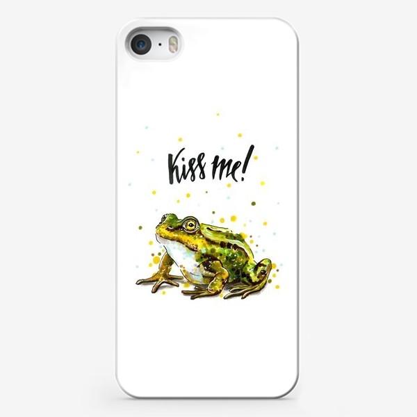 Чехол iPhone «ЛЯГУШКА »