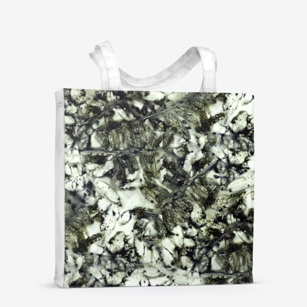 Сумка-шоппер «Осенняя графика (темный)»