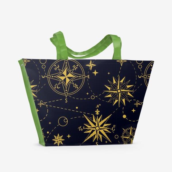 Пляжная сумка «Роза Ветров»