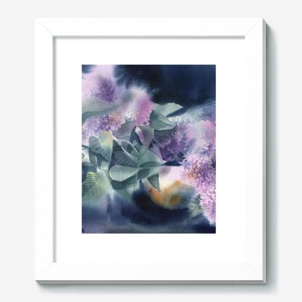 Картина «Lilac flowers»