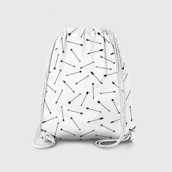 Рюкзак «Черно-белые стрелы 2»