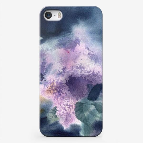 Чехол iPhone «Lilac flowers»