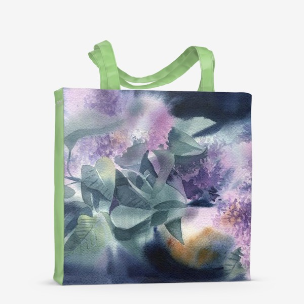 Сумка-шоппер «Lilac flowers»