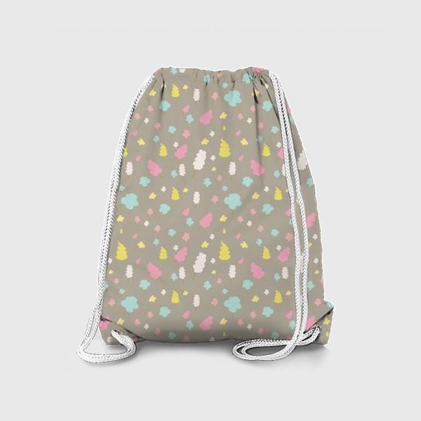 Рюкзак «Паттерн со сладкой ватой»