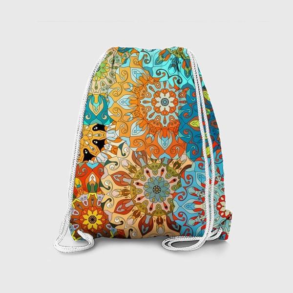 Рюкзак «Солнечная мандала»