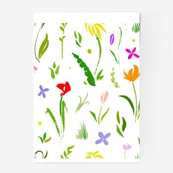 Постер «Цветы цвета цветов»