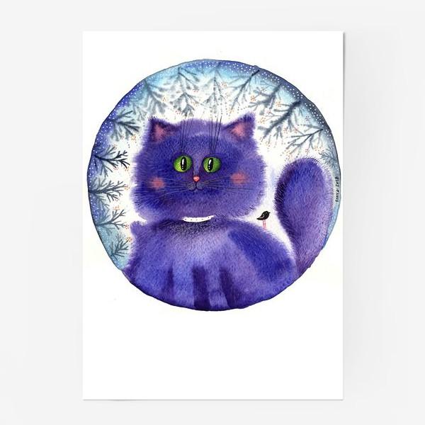 Постер «Чернильный кот»
