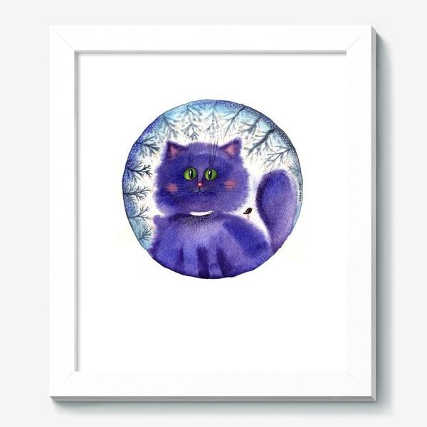 Картина «Чернильный кот»