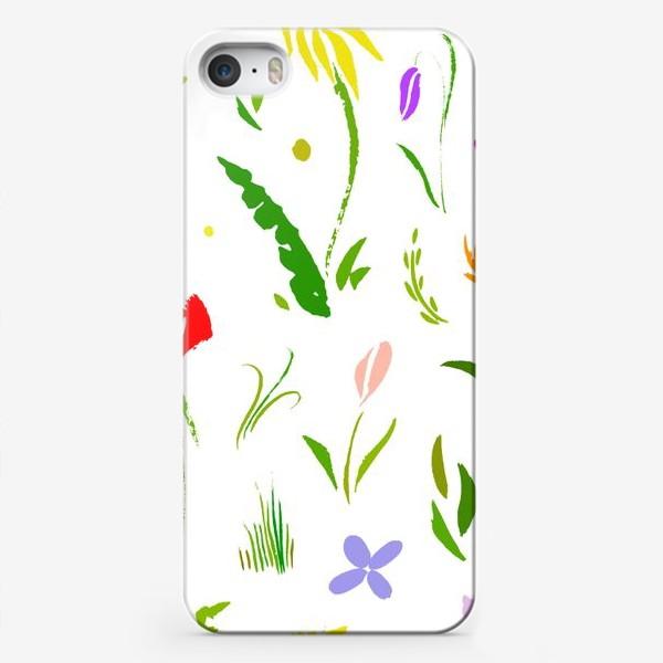 Чехол iPhone «Цветы цвета цветов»