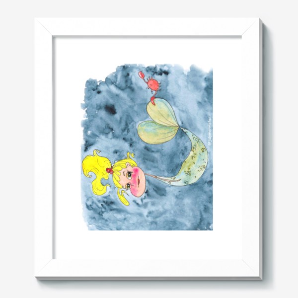 Картина «Русалка и краб»