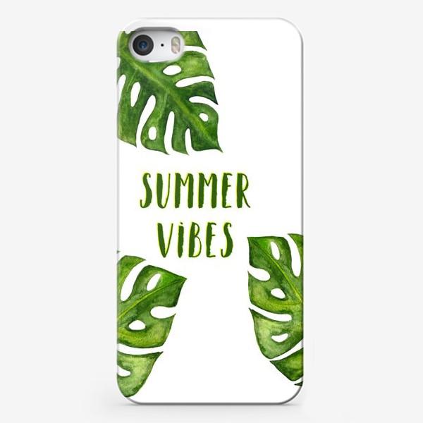 Чехол iPhone «Summer Vibes»