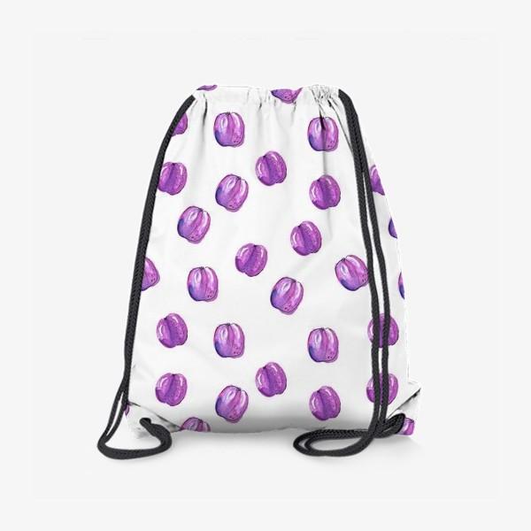 Рюкзак «Патерн со сливами»