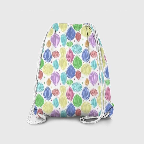 Рюкзак «Абстрактный цветной паттерн»
