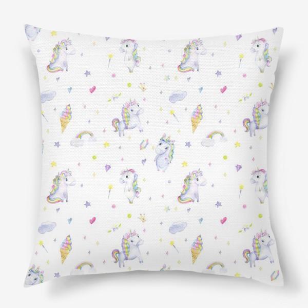 Подушка «Единороги»