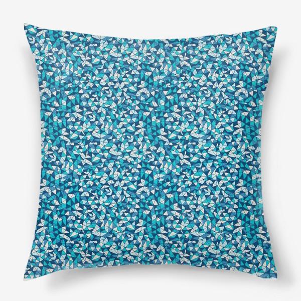 Подушка «Abstract Pattern design»