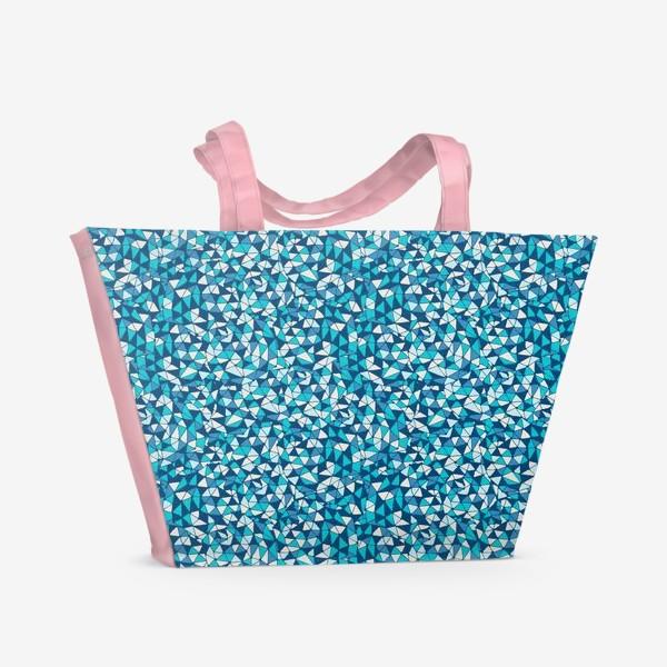 Пляжная сумка «Abstract Pattern design»