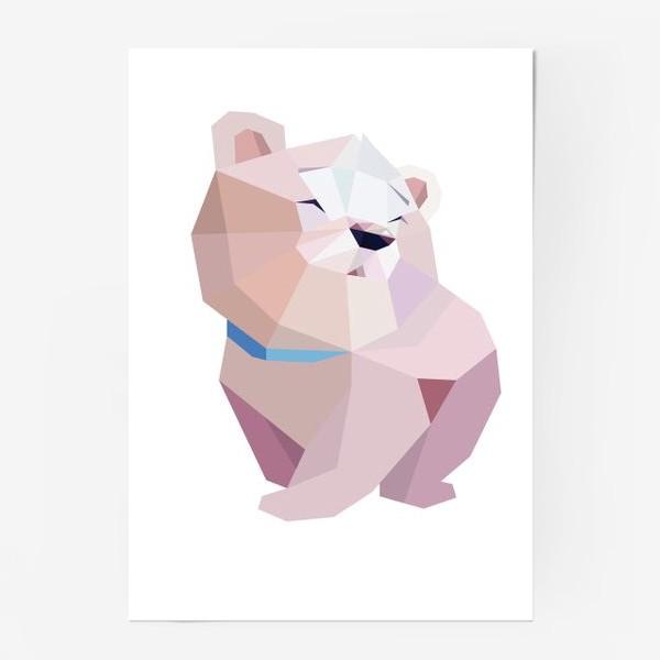 Постер «Полярный медвежонок»