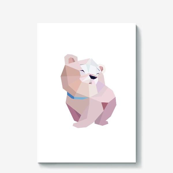 Холст «Полярный медвежонок»
