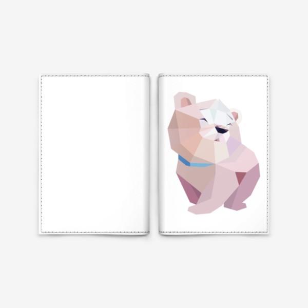 Обложка для паспорта «Полярный медвежонок»