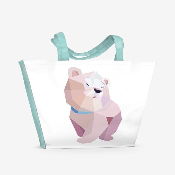 Пляжная сумка «Полярный медвежонок»