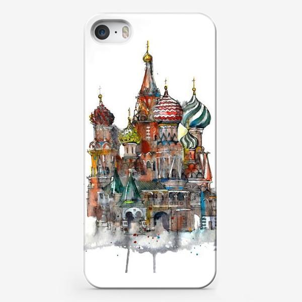 Чехол iPhone «Храм Василия Блаженного»