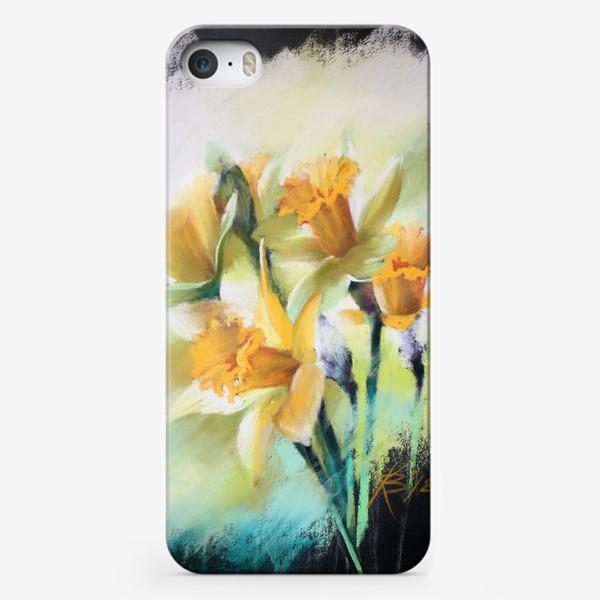 Чехол iPhone «нарциссы2»
