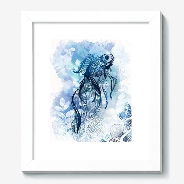 Картина «рыба в аквариуме»