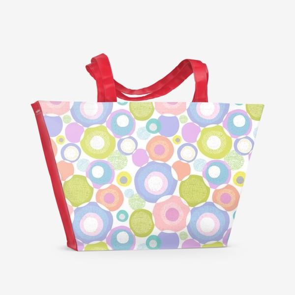 Пляжная сумка «Весёлый коллаж»