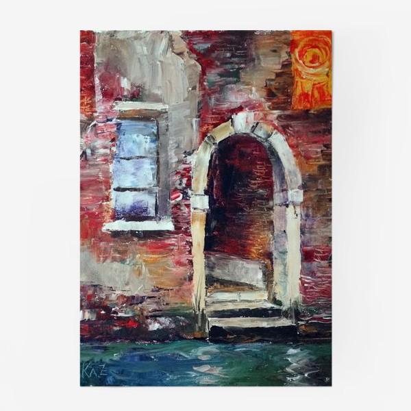 Постер «Сны о Венеции. Rio di San Zan Degola.»