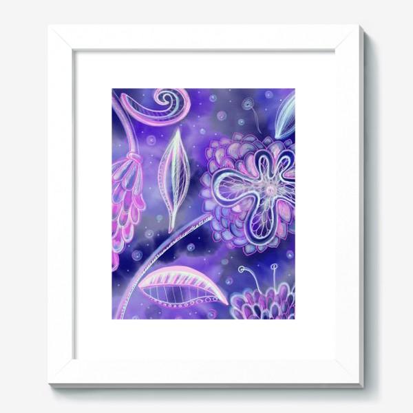 Картина «night flowers»