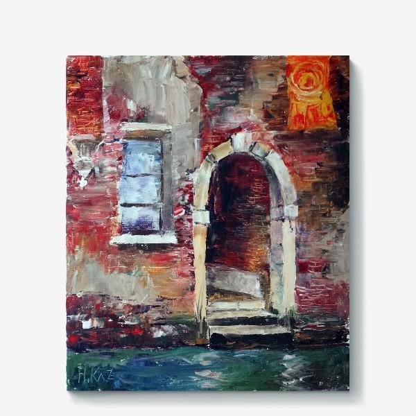 Холст «Сны о Венеции. Rio di San Zan Degola.»